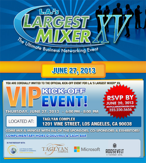 LA's Largest Mixer XV