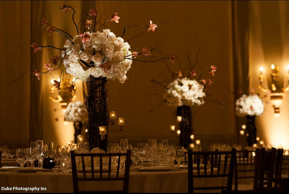 Flowers by Tic Tock Couture Florals Design by Fancy That! Image by Duke Photography