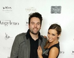 Scheana Marie and Michael Shay show off their new red carpet looks