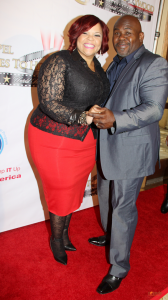 Gospel Stars and Actors Tamela and David Mann