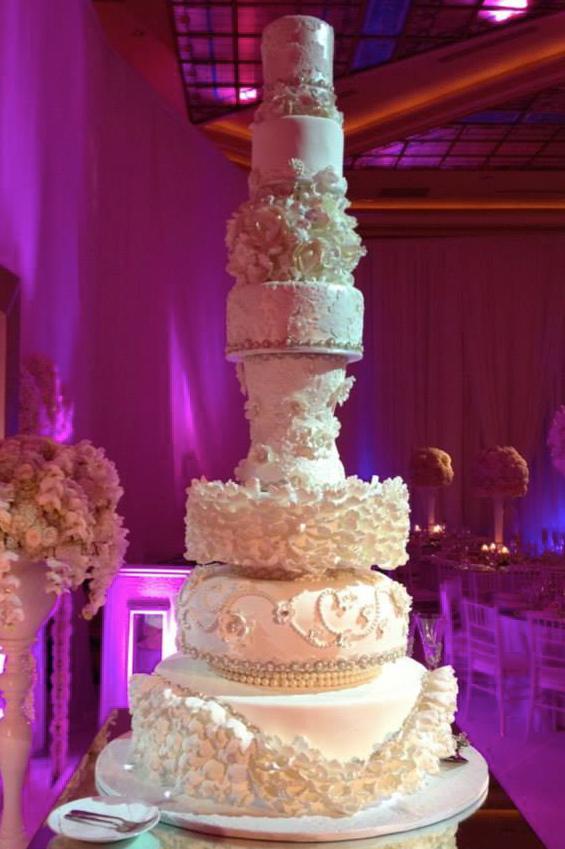 Hrach and Arsine's Wedding Cake - Taglyan Complex