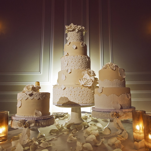 The Most Magnificent Wedding Cakes In Los Angeles