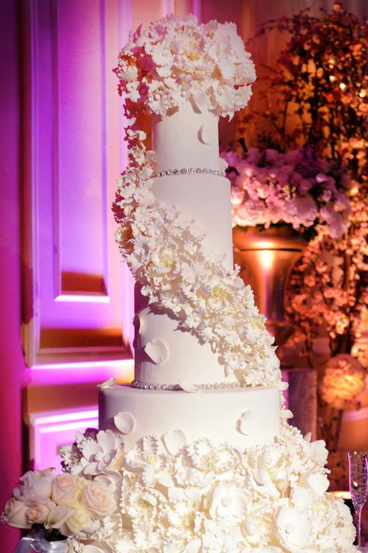 Wedding Cakes at Taglyan Complex - Shant and Selina