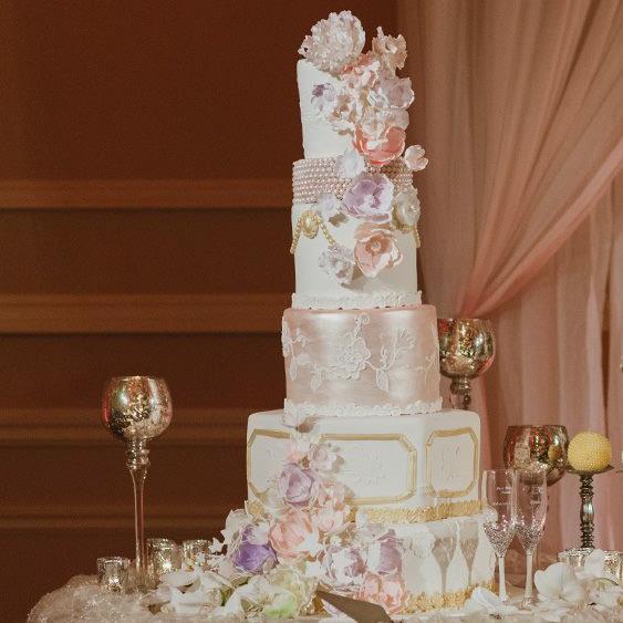 Ed and Adris' Wedding Cake - Taglyan Complex