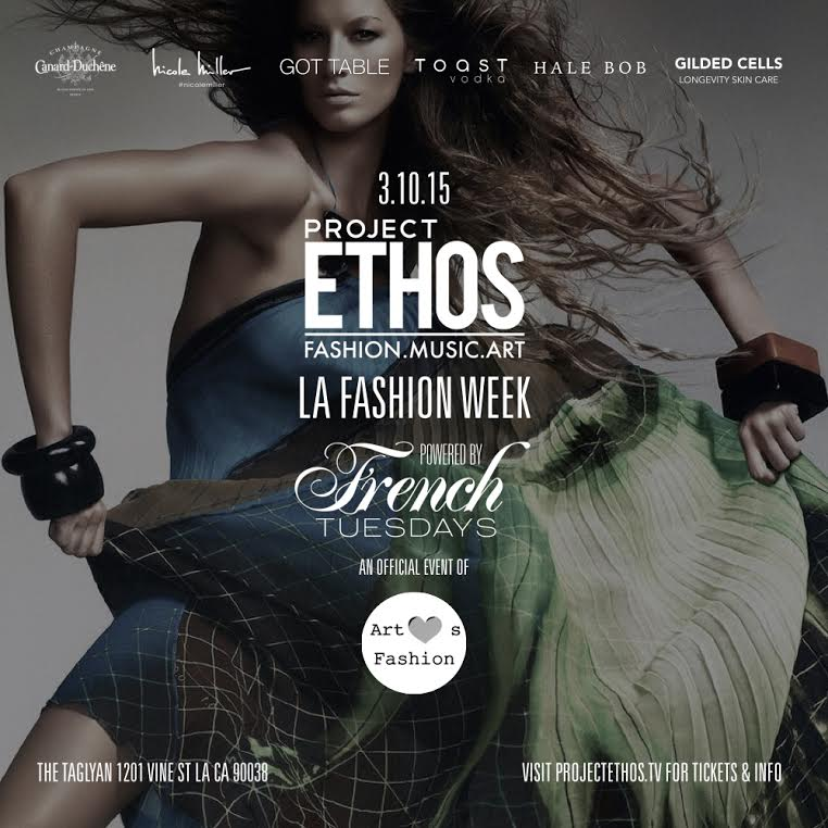 Promotional Poster for Project Ethos - Art Hearts Fashion 2015 - Taglyan Complex