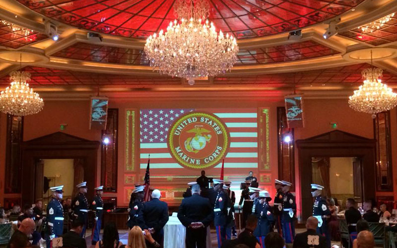 Taglyan Complex Helps the U.S. Marine Corps Celebrate Its 239th Birthday