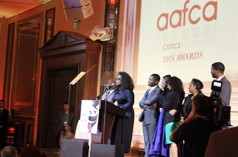 Oprah at Taglyan Complex for the AAFCA Awards
