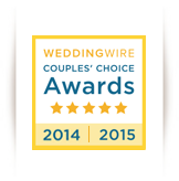 WeddingWire Coouples' Choice Award
