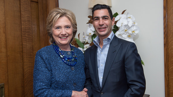 Hillary Clinton & Gary Taglyan