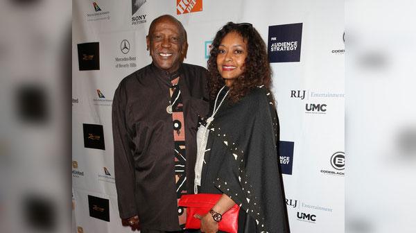 Lou Gossett Jr. and Wife