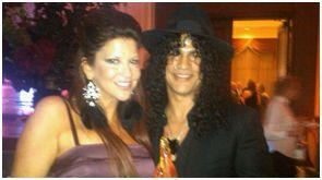 Slash & Perla Hudson