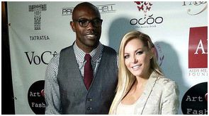 Terrell Owens and Crystal Hefner
