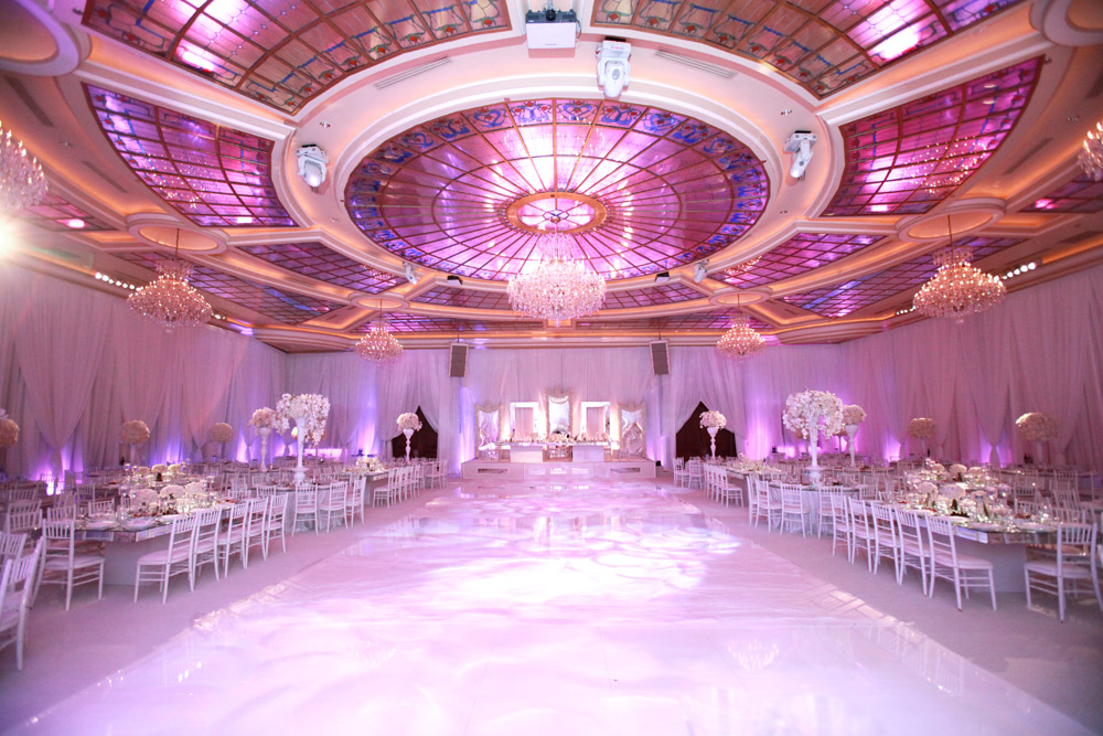 Los angeles banquet hall taglyan complex grand ballroom for Ball room decoration