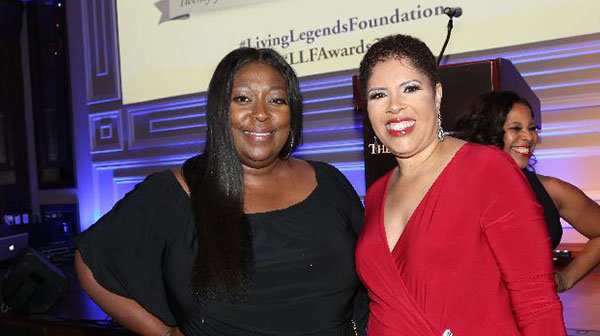 Loni Love & Sheila Eldridge
