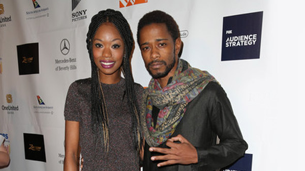 Xosha Roquemore and Keith Stanfield