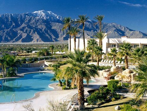 Desert Hot Spring Honeymoon