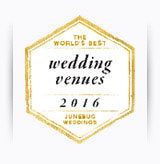 Worlds Best Wedding Venue Award 2016