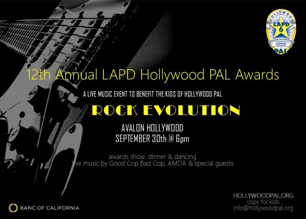 Police Activities League Rock Evolution Event