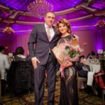 Mr. Sahakyan Poses for a Photo with Ms. Karibian