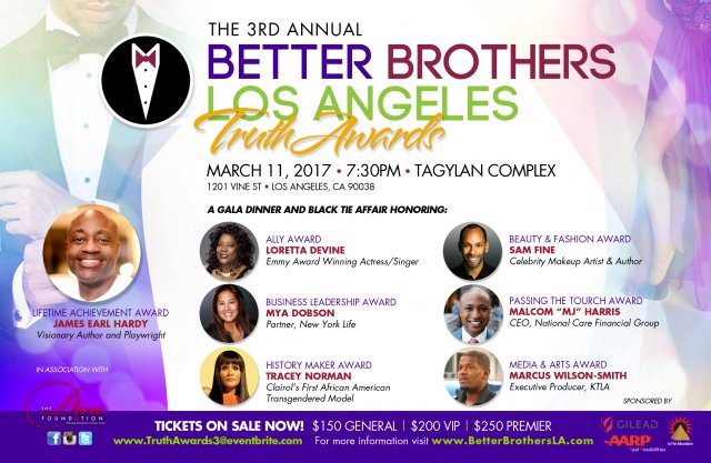 Black LGBTQ Community Honored At 3rd Annual Better Brothers Los Angeles Truth Awards