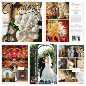 Ceremony Magazine Spread