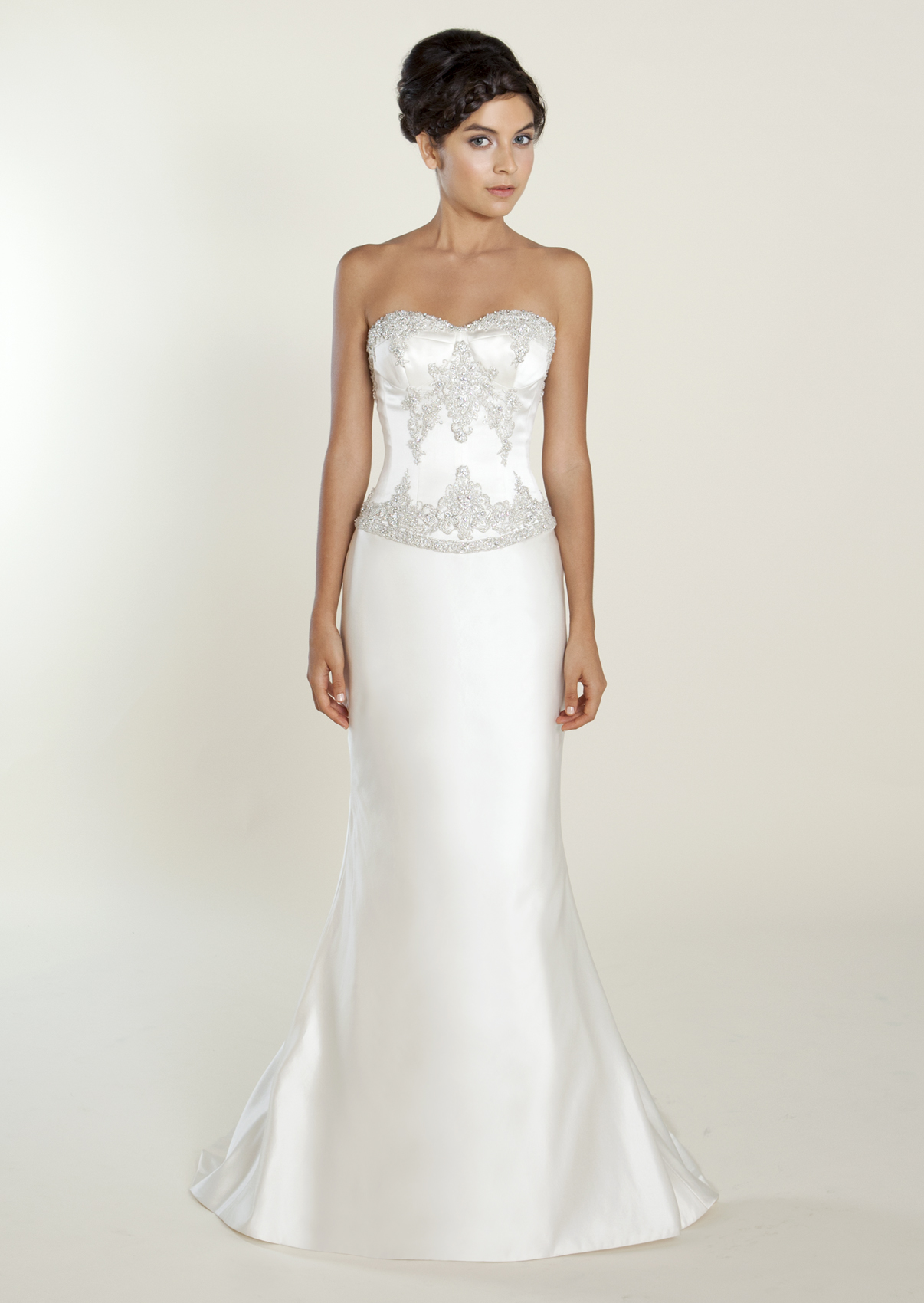 Medeleine Gown from the Winnie Couture Diamond Collection