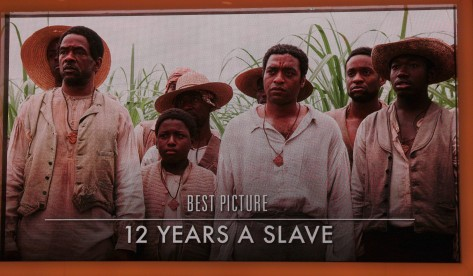 """12 Years a Slave"" was honored as 2013's best film"