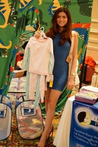 Actress Blanca Blanco donates kids' pajamas to Pajama Project