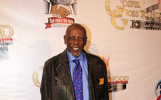 Louis Gossett Jr. at Taglyan Complex