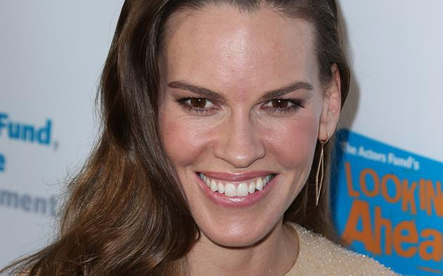 Hilary Swank at Taglyan Complex