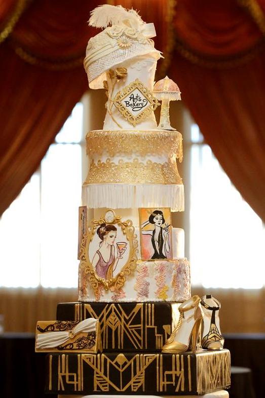Cake for SOAR LA Gala - Taglyan Complex