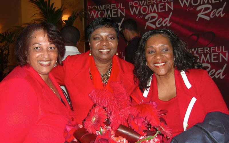 "Delta Sigma Theta's ""Powerful Women In Red"" Luncheon Honors Hattie Winston and Harold Wheeler"