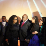 Oprah at Taglyan Complex for AAFCA Awards