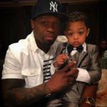 50 Cent & Model Son