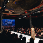 Runway Show from Designer Stello in the Ballroom