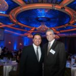 "John Maceri & Jose Huizar at Lamp's ""Fall Affair"""