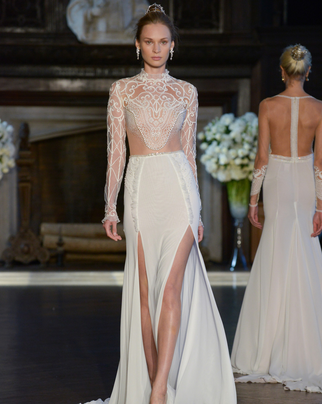 Hottest trends from bridal fashion week fall 2016 for Virtual try on wedding dress