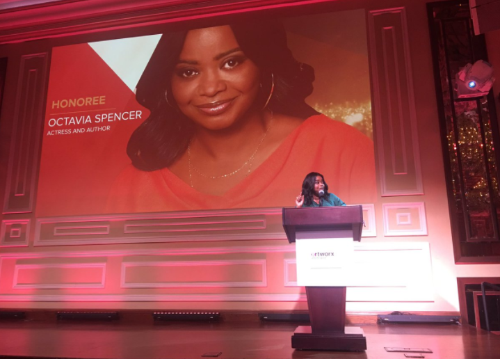 Octavia Spencer honored at artworxLA