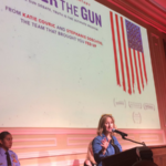 women against gun violence speech at tagylan complex