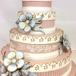 Wedding Cake Trends - Hand Painted