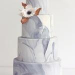Wedding Cake Trends - Marble Fondant