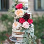 Wedding Cake Trends - Naked Cake