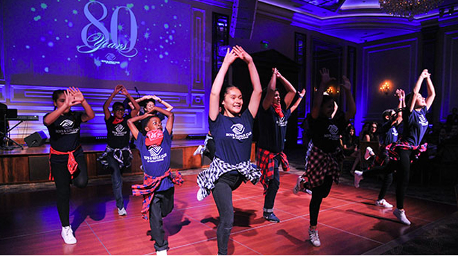 Boys & Girls Club Of Hollywood Gala - Hip Hop Dance