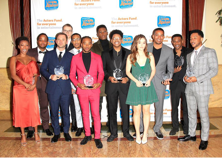 Looking Ahead Awards - Detroit Cast