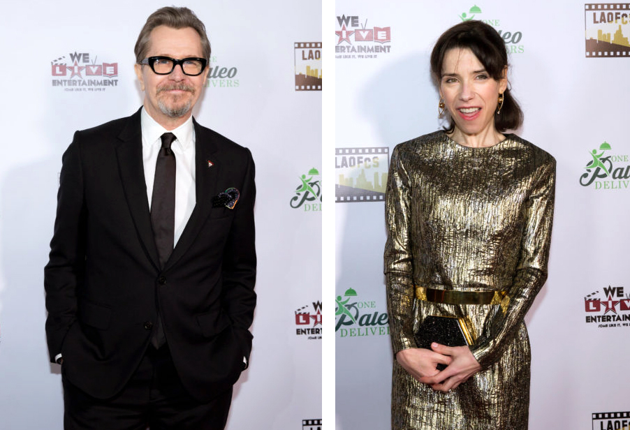 LA Online Film Critics Society Awards - Gary Oldman and Sally Hawkins