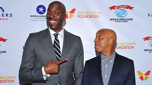 John Sally and Russell Simmons