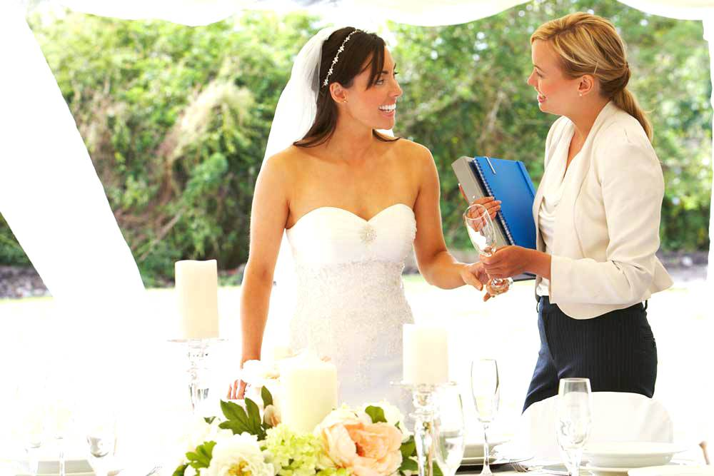 wedding planner will be with you - event planner