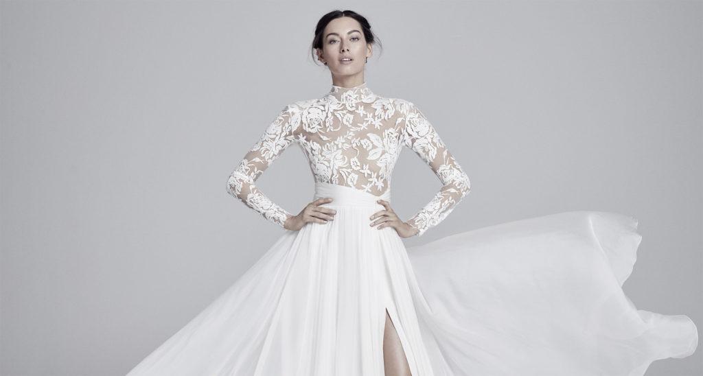 36b39f3106729 New York Bridal Fashion Week: Best Wedding Dress Trends 2019-2020
