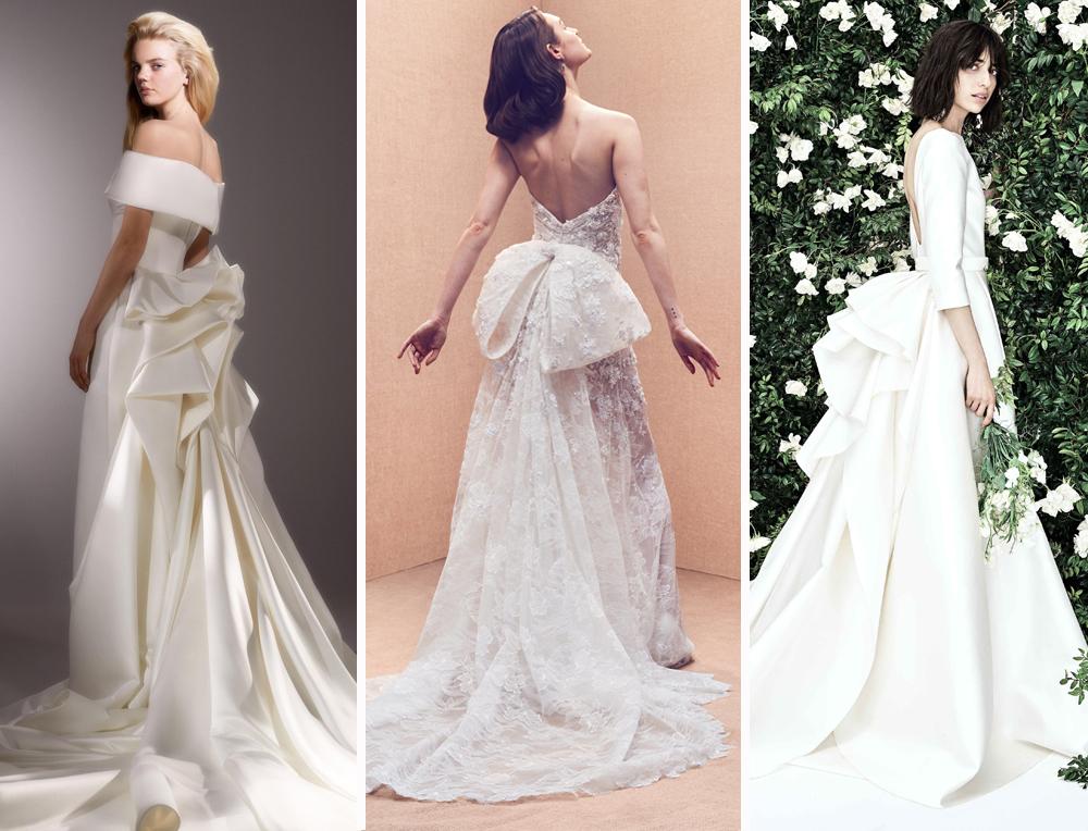 4b7542b528 New York Bridal Fashion Week  Best Wedding Dress Trends 2019-2020