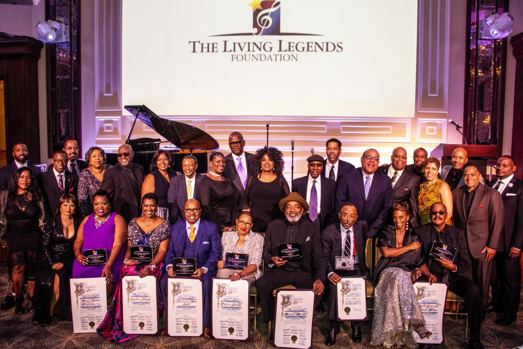 living legends foundation award show winners